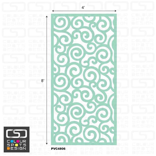 decorative panel PVC 4806