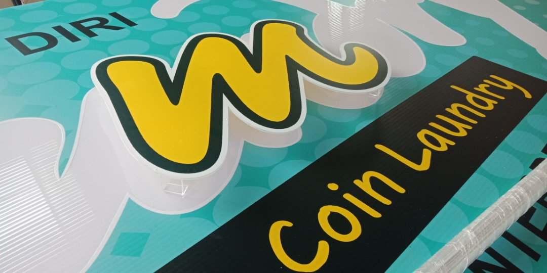 low cost 3d acrylic signage signage