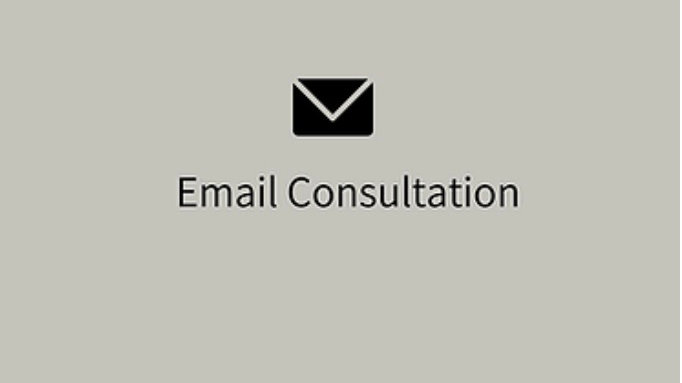 Twin package - email consult + 3 weeks follow up