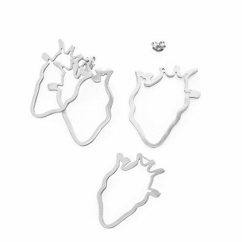 BRINCOS HEART