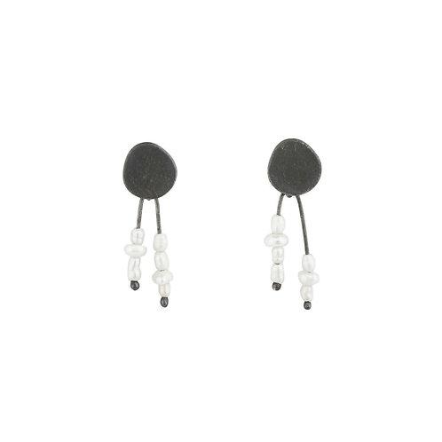 Ines telles Jewelry brincos prata joalharia contemporânea mod jewellery