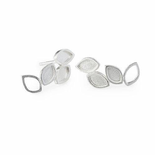 Ines telles Jewelry brincos prata luzia