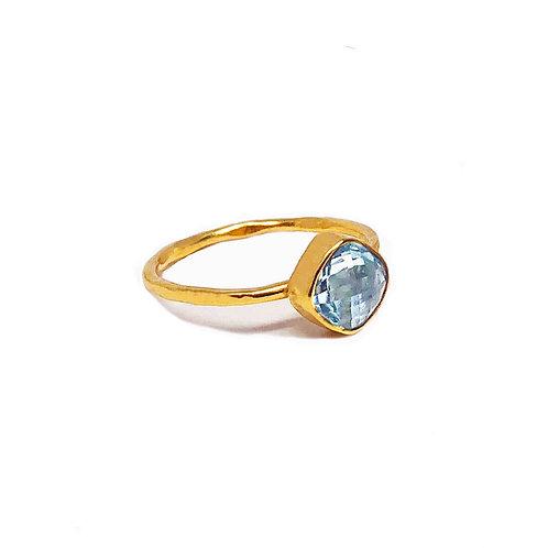 anel prata joalharia pedras naturais