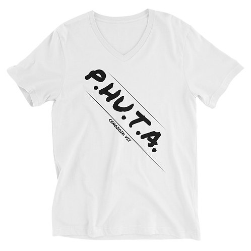 P.HU.T.A. Unisex V-Neck T-Shirt