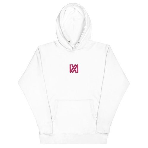 VX3XINV Symbol Embroidered Unisex Hoodie