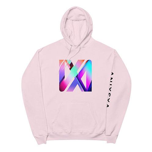 VX3XINV Symbol Rosé Unisex fleece hoodie