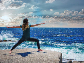 """YOGA: """"how does stretching and moving your body into shapes, enlighten the spirit?"""""""