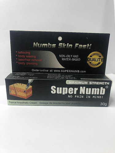 Super Numb  Topical Anesthetic Cream