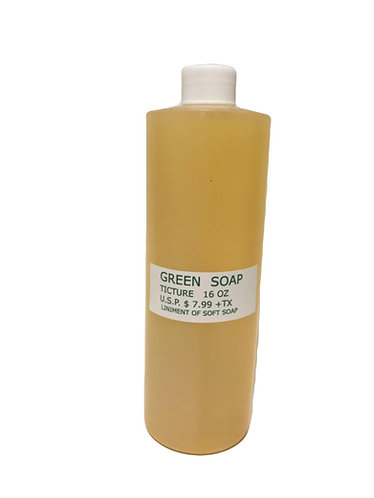 Green Soap      16oz