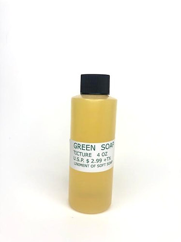 Green Soap   4oz