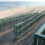 Zjazd na plażę w Miedzywodziu