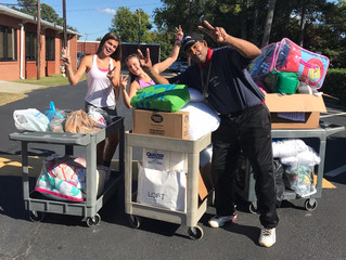WCDS Hurricane Relief Efforts a SUCCESS!!!!