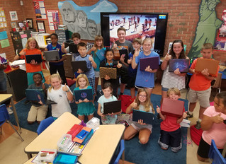 The 5th Grade Chromebooks Have Arrived!