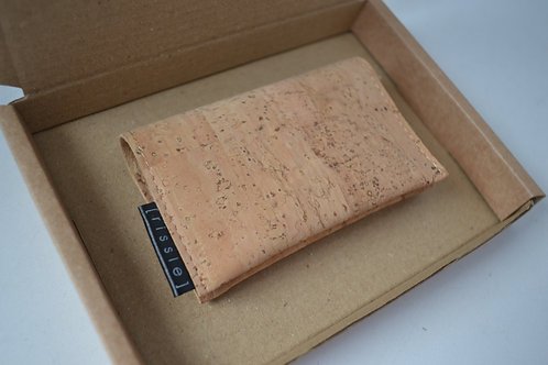 Vegan Cork Leather Cardholder
