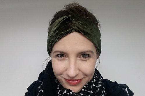 Velour Winter Turban Style headband