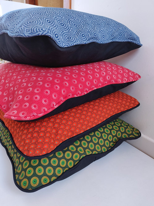 African print pillow cover - assorted colours