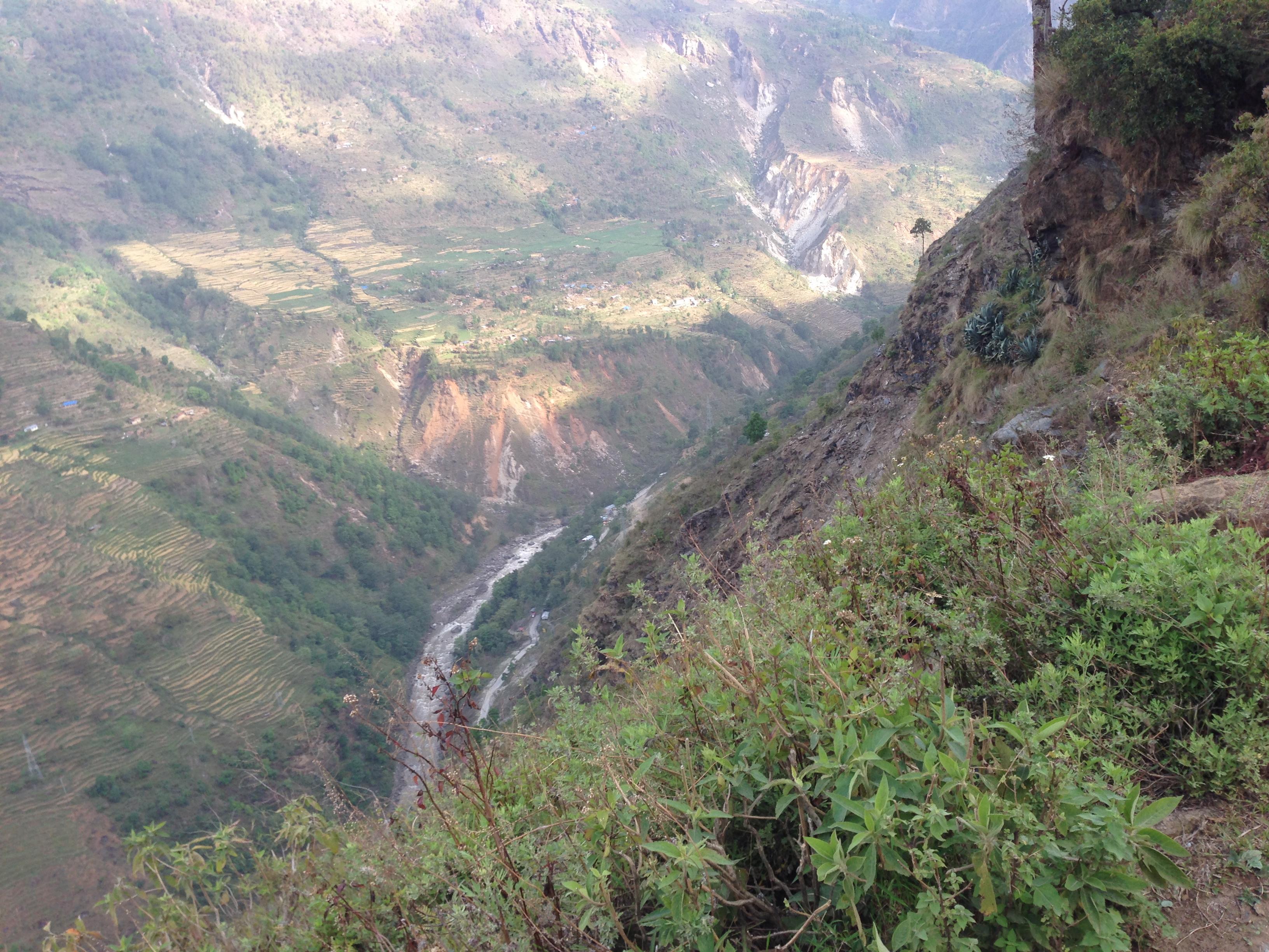 10-cao nguyên Nepal nhìn từ đường mòn - 1