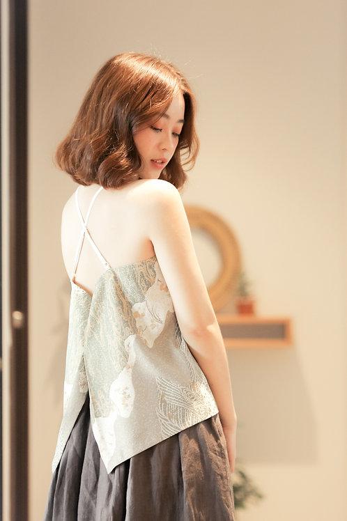 Silk strappy cami top