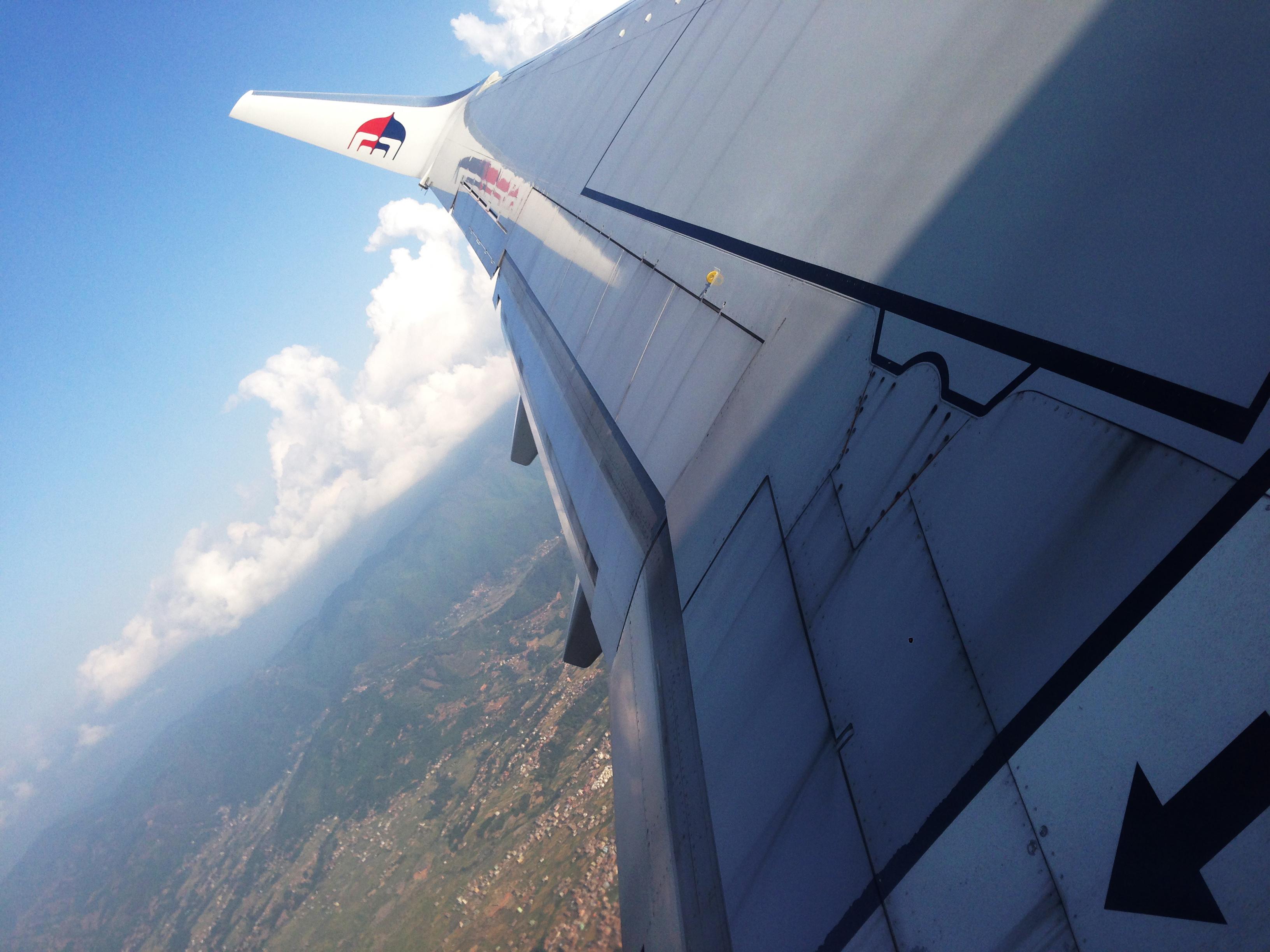 22-kathmandu nhìn từ máy bay