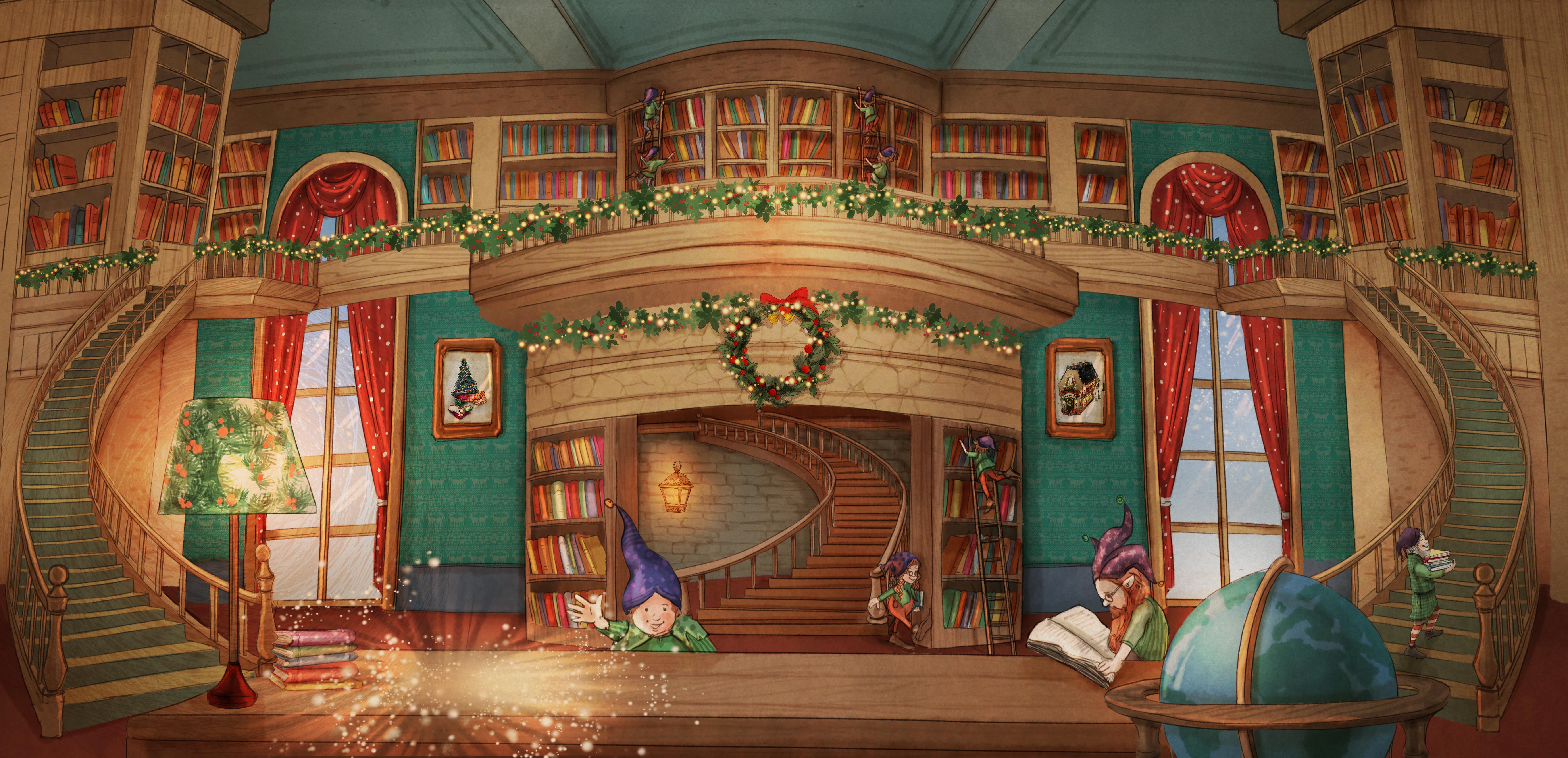 Santa's library