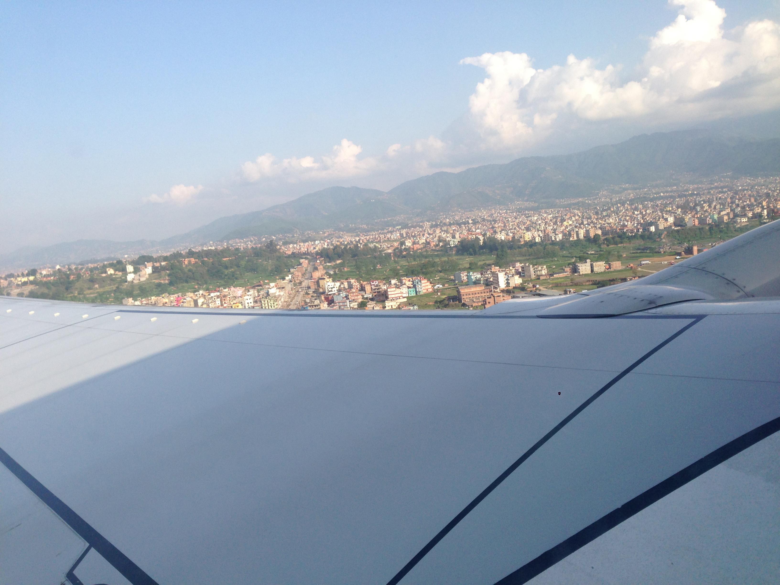 22-cao nguyên Nepal và kathmandu nhìn từ máy bay