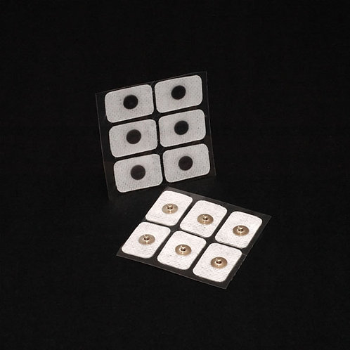 Single snap cloth electrodes - Order No. 3SG3-N