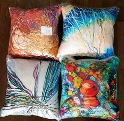 Array of Stuffed Pillows