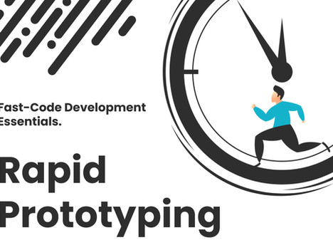 How To Use a Fast Code Platform For Rapid Prototype Development