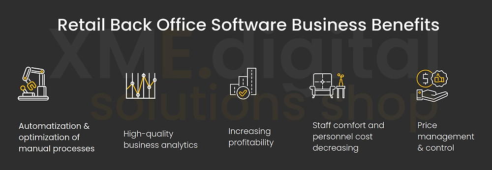 Retail Back Office Software Business Benefits