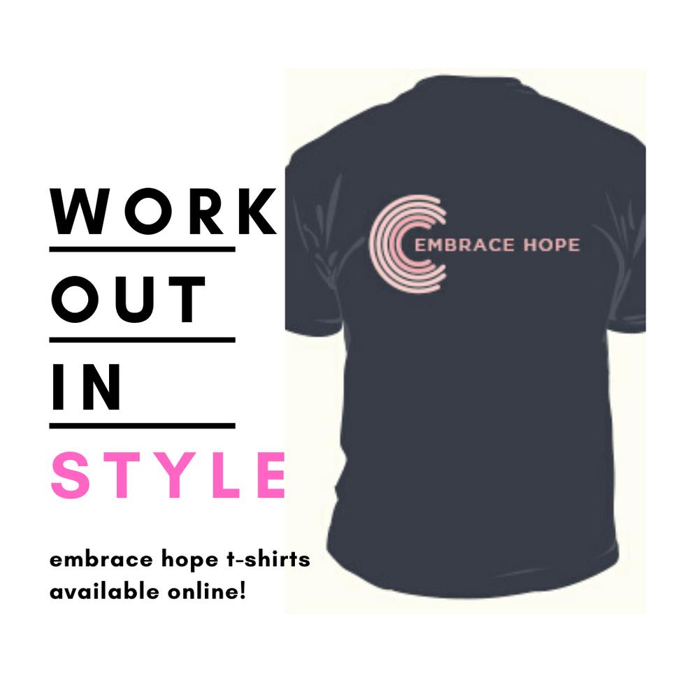 Embrace Hope T-Shirt Promotion