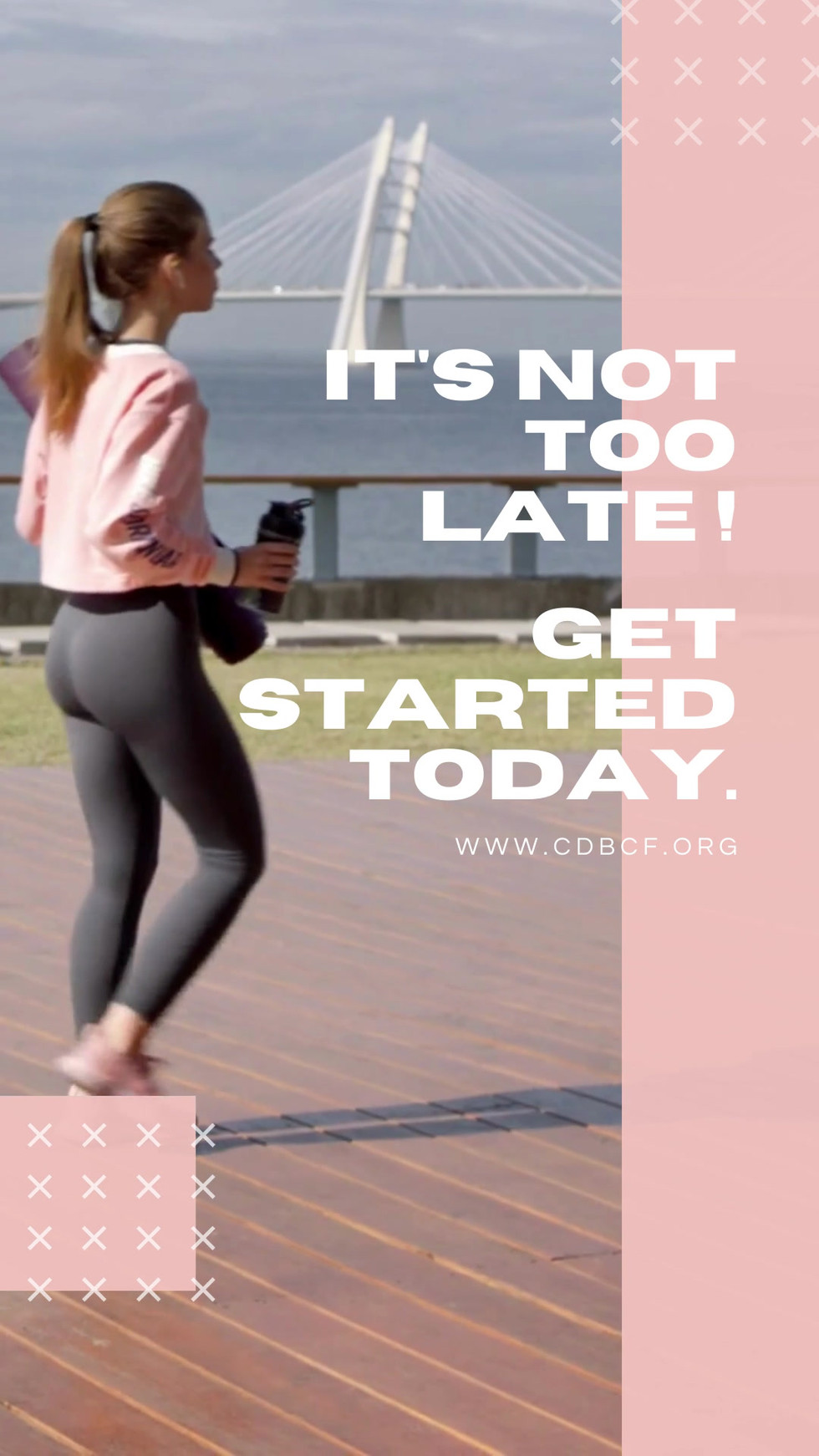 CDBCF Fitness Challenge Reminder
