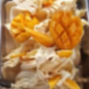 גלידת מנגו הכי קיץ שיש 🤗🍦 #שוקולטה_גלי