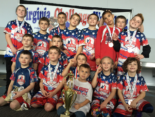 Team Greco places 1st in the Silver Bracket!!