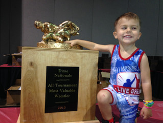 Introducing the Dixie Nationals - All Tournament Most Valuable Wrestler!!
