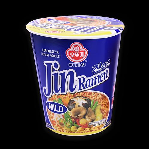 JIN RAMEN CUP MILD -VISUAL 65G (6 PCS/CASE)