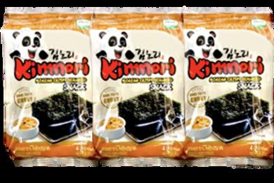 KIMNORI KOREAN CRISPY SEAWEEDS-CURRY  4GX3 12G