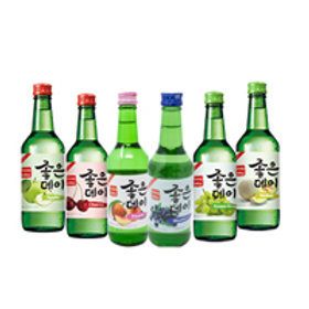 KOREAN SOJU - FLAVORED - NOT ASSORTED (20 PCS/CASE)