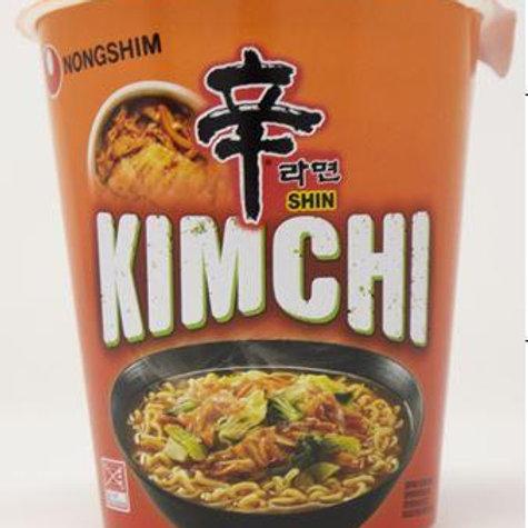 SHIN RAMYUN CUP-KIMCHI ( E) 75G (12PCS /CASE)