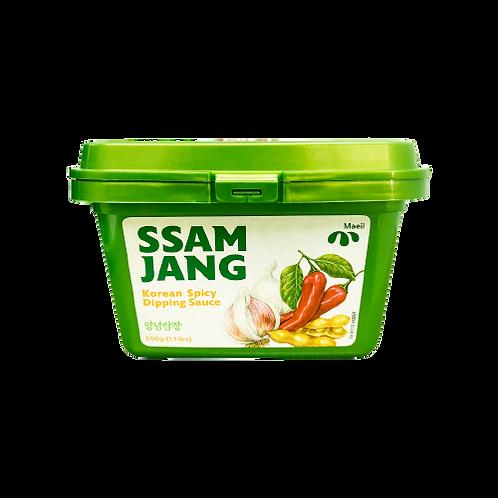 SEASONED SOY BEAN PASTE (SSAMJANG) 500G (20 PCS/ CASE)