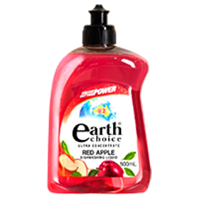 EARTH CHOICE RED APPLE DISH CONCENTRATE 500ML (PER PIECE)