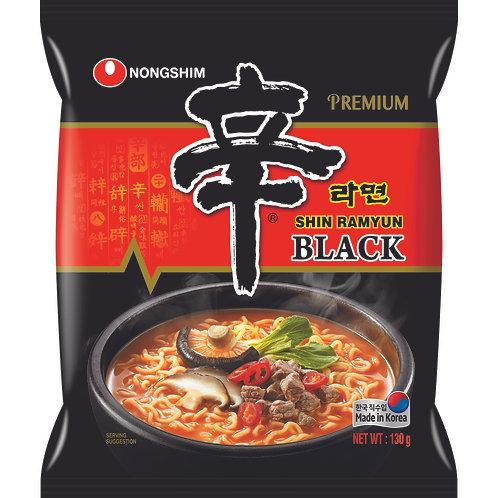 SHIN RAMYUN POUCH -BLACK (E) 130G  (20 PCS/CASE)