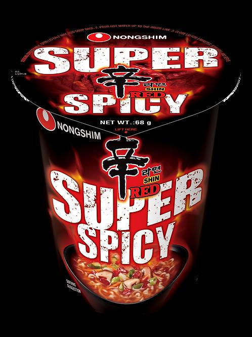 SUPER SPICY SHIN CUP RAMYUN (E) 68G (12 PCS/CASE)