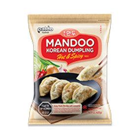 MANDOO KOREAN DUMPLING HOT & SPICY 420G