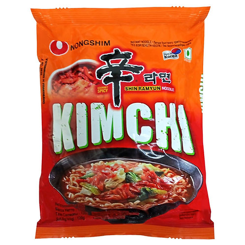 SHIN RAMYUN POUCH- KIMCHI (E) 120G (20 PCS/CASE)