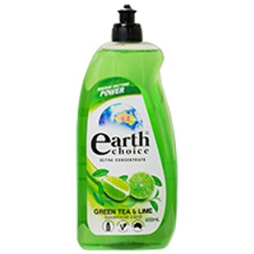 EARTH CHOICE GREEN TEA & LIME DISH CONCENTRATE 900ML (PER PIECE)