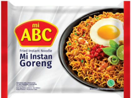 ABC FRIED MI GORENG INSTANT NOODLE 70G (40 PCS/CASE)