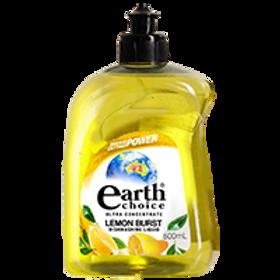 EARTH CHOICE LEMON BURST DISH CONCENTRATE 500ML (PER PIECE)