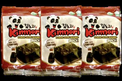 KIMNORI KOREAN CRISPY SEAWEEDS-TERIYAKI  4GX3 12G