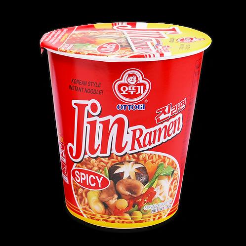 JIN RAMEN CUP HOT -VISUAL 65G (6 PCS/CASE)