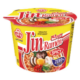 JIN RAMEN BIG BOWL - HOT (E) 110G (12 PCS/CASE)